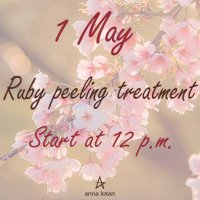 Ruby peeling treatment