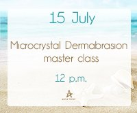 Microcrystal Dermabrasion master class!