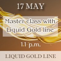 Master class with Liquid Gold line