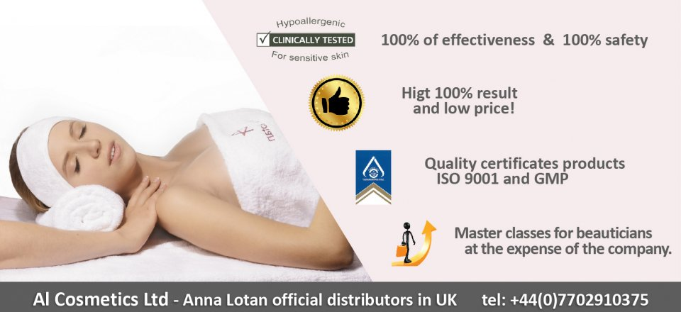 Anna Lotan - Products For Professional Skin Care!